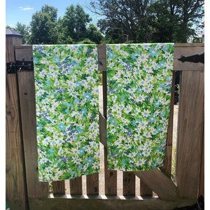 Vintage Window Curtains/Valances